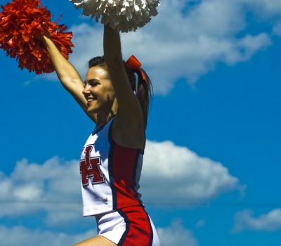 uh cheerleader